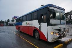Unser verrantzter Bus